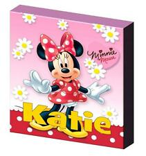PERSONALISED MINNIE MOUSE CANVAS PICTURE