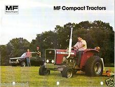 Farm Tractor Brochure - Massey Ferguson - MF 205 210 220 - Compact - (F2346)