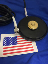 MAGNET BASE NMO MOUNT MINI UHF MAGNETIC  UHF VHF ANTENNA BASE NMO MADE IN USA