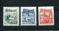 GERMANY 3rd REICH SUPPORT OF VOLUNTEERS IN DANISH SS LEGION I-III PERFECT MNH