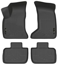 Husky Front & 2nd Seat Floor Liners for 2011-2018 Charger / Chrysler 300 AWD