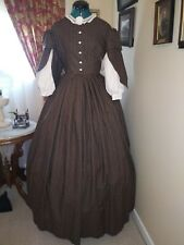 Sale. Save 15% Civil War Reenactment Fancy Day Dress Size 14 Was $200 Now $169