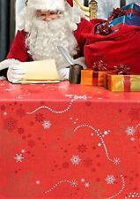 tamaño: 140x100cm. Cuadros en rojo en relieve Premium Limpie Mantel por wjdhome