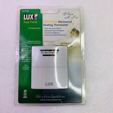 Lux  Easy Temp  T101141SA Mechanical Heating Thermostat  New Sealed