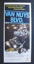 VAN NUYS BLVD 1979 Orig Australian daybill movie poster Ford Model T A hot rod