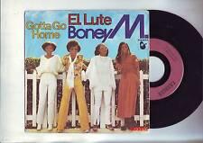 45 tours boney M - el lute / gotta go home - carrere