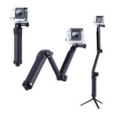 Portable 3-Way Folding Monopod Tripod Pole Selfie Stick Fits GoPro Hero 7 6 5