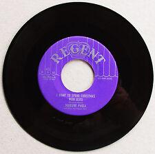 ELVIS PRESLEY 1956 NOVELTY I Want To Spend Christmas w/Elvis MarleneP Rare MINT-