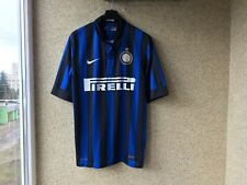 Internazionale Home football shirt 2011/2012 Jersey M Nike Soccer Italy Camiseta