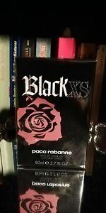 Paco Rabanne Black XS 80ml Eau De Toilette NEU&OVP (Folie) RARITÄT 💝