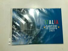 2021 Bolaffi Folder Italien UEFA Europameister Euro 2020 LE Nr. 446/999 COA