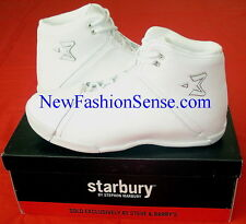Brand New Authentic Starbury One Bleach White High Top Basketball Shoes Size 6