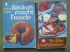 1 altes Kochbuch und 1 altes Backbuch beide von Dr. Oetker Kochbuch von 1935 !