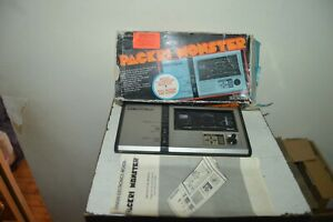 Console Game Packri Monster Pacman Box Manual Bandai Arcade 1970 Works