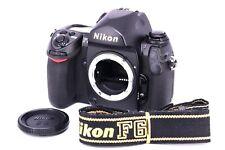 [FedEx] Nikon F6 35mm SLR Film Camera Black Body w/cap/strap [Excellent] #624838