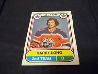 1975-76 OPC O-Pee-Chee WHA #69 Barry Long A.S. Edmonton Oilers - exmt-