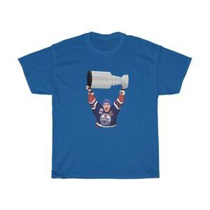 Mark Messier Stanley Cup 1990 Edmonton Oilers T-Shirt