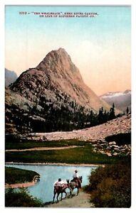Early 1900s The Whaleback, Kern River Canyon, CA Postcard *5Q16