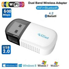 600Mbps 802.11ac Wireless USB WIFI Adapter 5G/2.4G Bluetooth 4.2 Lan Wifi Dongle