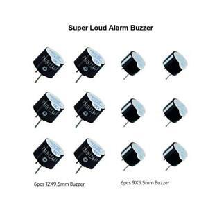 BetaFPV 5V Buzzer for FPV racing Drone (9 x 5.5mm 6 PCS and 12 x 9.5mm 6 PCS)