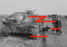 German tank destroyer Hetzer. May 1945. Probably in Germany (2)