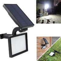 48LED Lámpara jardín energía solar a prueba de agua Reflector Césped Paisaje Luz