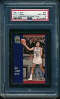 PSA 8 DELL CURRY 1991-92 Fleer 3D Acrylic Wrapper Redemption #19 RARE NM-MINT
