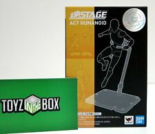 In STOCK Tamashii Stage Act 4 for Humanoid 2 pack Stand Support Clear