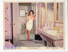 Elizabeth Taylor sexy Butterfield 8 Vintage Color Card