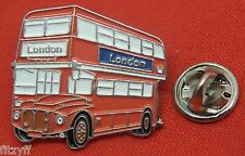 LONDON RED BUS LAPEL HAT CAP TIE PIN BADGE UK ENGLAND UNITED KINGDOM SOUVENIR