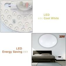 Round 20W LED Ceiling Light Fixture Lamp Bedroom Kitchen Lighting Cool White MT
