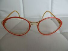 Brillengestell Damen rosa * runde Gläser * Brillenfassung * 80er Retro Vintage