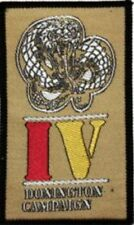 WHITESNAKE 'DONINGTON CAMPAIGN'  sew on woven patch