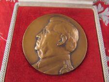 ancienne  medaille bronze medal henri hermann medecine  augis