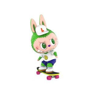 POP MART x HOW2WORK LABUBU Skateboarders Mini Figure Art Toy Lift Sub Limited