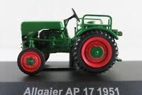 """HACHETTE #88 Allgaier AP 17 """"System Porsche"""" (1951) in grün 1:43 NEU/PC-Vitrine"""