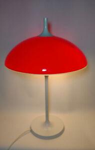 Temde Tischleuchte Table Lamp Tulip Fuß Vintage 60er 70er Pop Art Space Age
