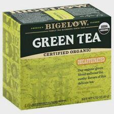 BIGELOW ORGANIC GREEN TEA, DECAF, 40 BAG