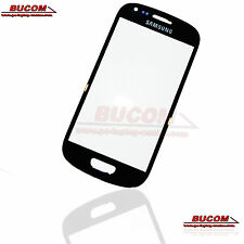 Samsung Galaxy s3 mini siii Front Glass panel frontal disco pantalla vidrio negro