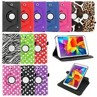 360 Rotating Swivel PU Leather Case Cover for Samsung Galaxy Tab 4 7.0 Nook T230