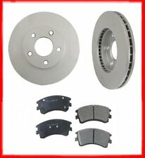 2003-2005 Mazda 6 (2) 31367 Front Disc Brake Rotor & Ceramic Brake Disc Pads