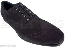 CESARE PACIOTTI US 12 LUXURIOUS SHEARLING OXFORDS ITALIAN DESIGNER MENS SHOES