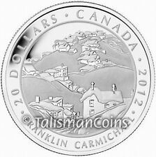 Canada 2012 Group of Seven Artists #3 Franklin Carmichael $20 Silver Proof