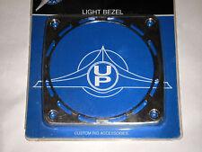 """KENWORTH OR FREIGHTLINER SEMI TRACTOR TRUCK 4"""" LIGHT BEZEL CHROME PLASTIC 32117"""