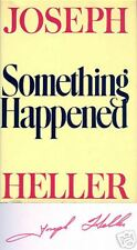 SIGNED! Something Happened by Joseph Heller Fine++ Cond