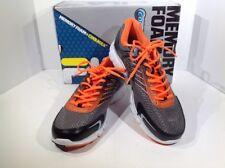 Fila Memory Maranello 2 Men's Sz 11 Black/Orange/Silver Athletic Shoes X14-1304
