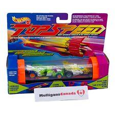 VTG Hot Wheels TOP SPEED Launcher Set W/ Speed Tube & Cars | RoadVac & ShockRod