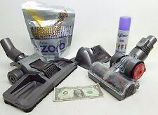 3 Pcs! Dyson Animal Vacuum Floor Head Attachments Roller + ZORB Powder / Spray