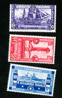 Italy Stamps # 265-7 VF OG LH Catalog Value $41.50