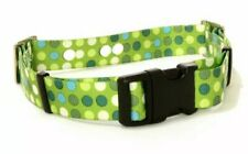 Electric Dog Fence Replacement Collar Strap Heavy Duty Mint Green Polkadots 26""